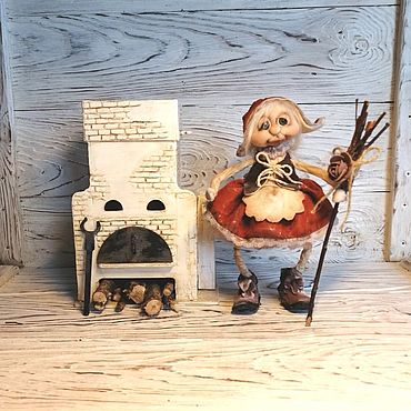 Dolls & toys handmade. Livemaster - original item Doll: Doll interior, collectible.