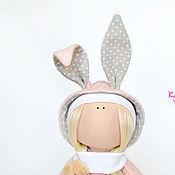"""Куклы и игрушки ручной работы. Ярмарка Мастеров - ручная работа Куколка из серии """"Little baby"""" Зайка. Handmade."""