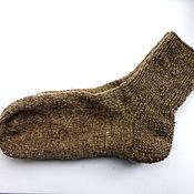 Аксессуары ручной работы. Ярмарка Мастеров - ручная работа носки мужские шерстяные из овечьей шерсти. Handmade.
