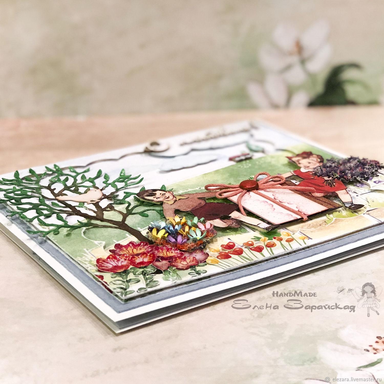 вьетнамские открытки ручной работы появившемся
