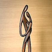 """Для дома и интерьера ручной работы. Ярмарка Мастеров - ручная работа """"Нежность"""" скульптура из дерева. Handmade."""