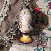 Сувениры и подарки handmade. Livemaster - original item Easter egg painting the Resurrection of Christ. Handmade.