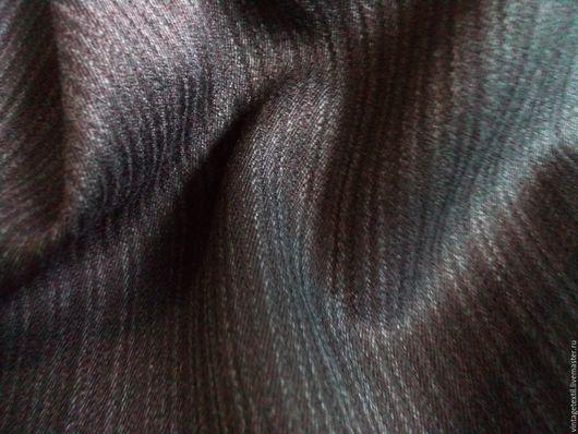 Одежда. Ярмарка Мастеров - ручная работа. Купить 3 м Костюмной полушерстяной ткани. Как всегда винтаж.... Handmade. Черный
