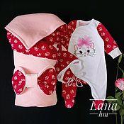 Одежда детская handmade. Livemaster - original item To extract a set for the baby .. Handmade.