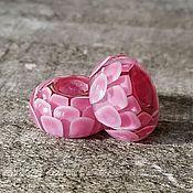 """""""Розовые лепестки"""" шармы для браслета пандора (Pandora)"""