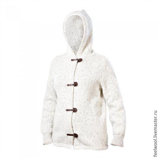 Кофты и свитера ручной работы. Ярмарка Мастеров - ручная работа. Купить Cвитер из 100% новозеландской шерсти. Handmade. Свитер унисекс