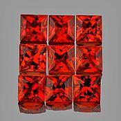 Подвеска ручной работы. Ярмарка Мастеров - ручная работа Сапфир натуральный 1,01Ct, 2,5мм, 9 шт. Handmade.