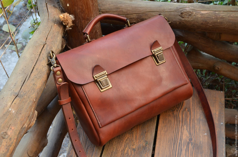 62b59d1f11b0 Мужские сумки ручной работы. Ярмарка Мастеров - ручная работа. Купить  Портфель МД.