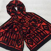 Винтаж handmade. Livemaster - original item Vintage scarf,100% silk,vintage Germany. Handmade.