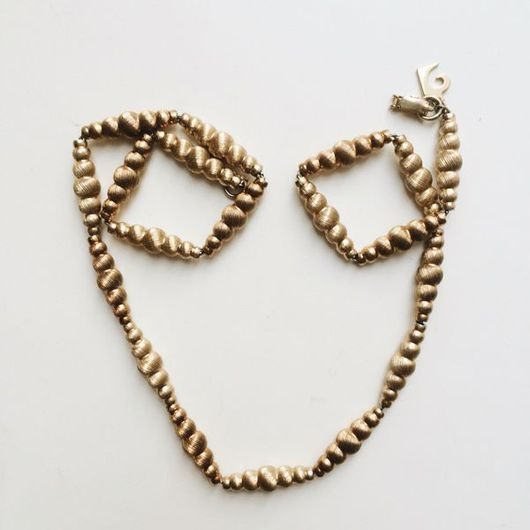 Винтажные украшения. Ярмарка Мастеров - ручная работа. Купить Pierre Cardin Ожерелье на ключицы (или под воротничок) (унисекс). Handmade.