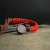Сувениры и подарки handmade. Livemaster - original item Bead for lanyard round with lanyard. Handmade.