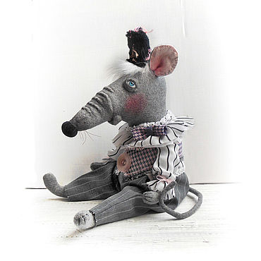 Куклы и игрушки ручной работы. Ярмарка Мастеров - ручная работа Куклы: Крыс Леопольд. Handmade.