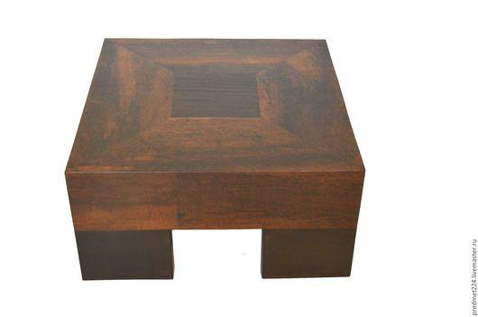 Мебель ручной работы. Ярмарка Мастеров - ручная работа. Купить Стол 5. Handmade. Коричневый, стол, полиуретан мат