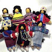 Куклы и игрушки ручной работы. Ярмарка Мастеров - ручная работа Авторская коллекция индейских традиционных кукол Северной Америки. Handmade.