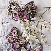 """Украшения ручной работы. Ярмарка Мастеров - ручная работа Комплект украшений """"Spring Butterfly"""". Handmade."""