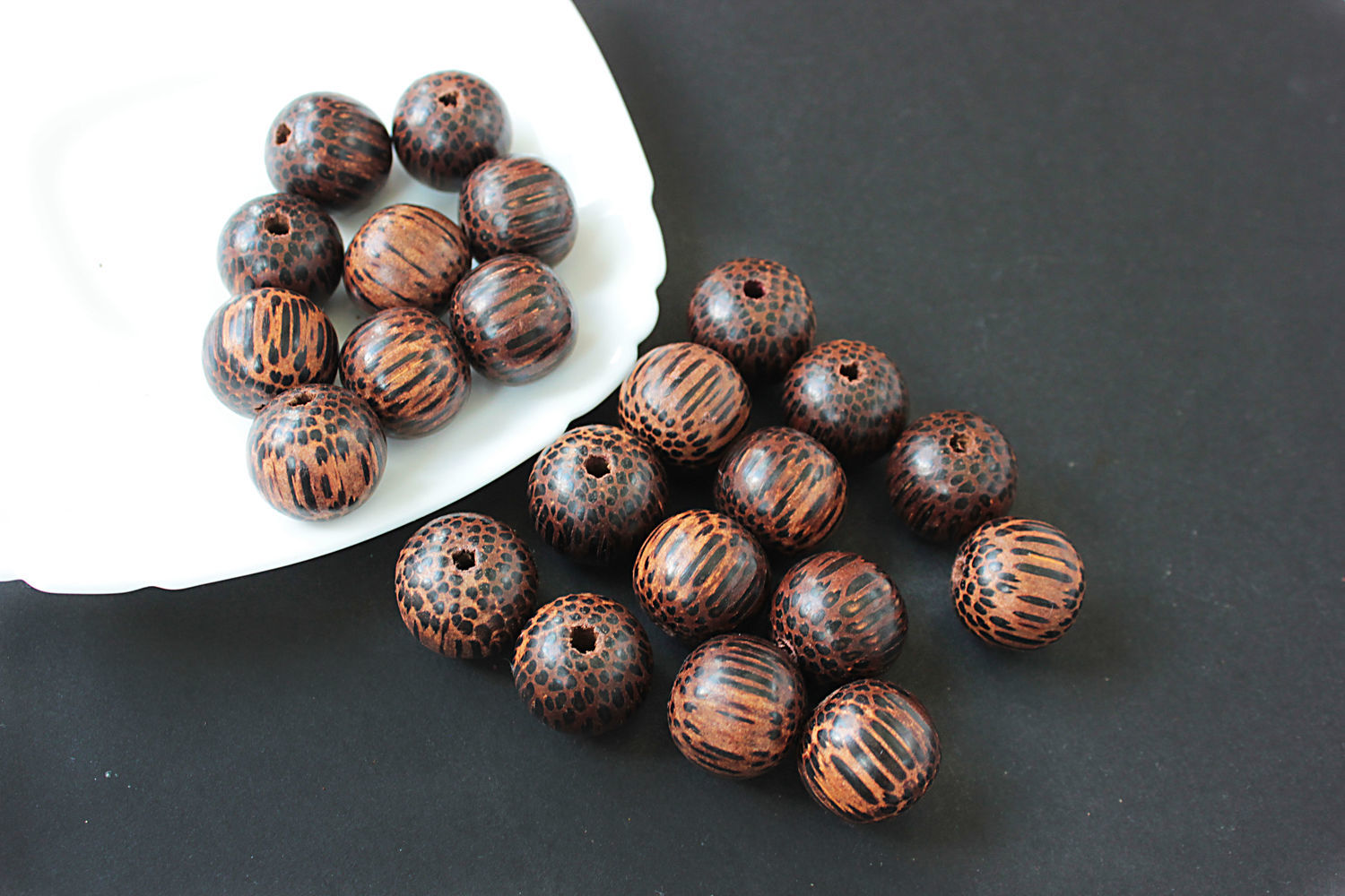 Beads old palm tree valuable tree ball 20mm, Beads1, Bryansk,  Фото №1