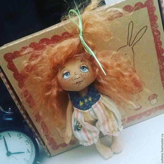 Кукольный дом ручной работы. Ярмарка Мастеров - ручная работа. Купить Куколка-веснушка. Handmade. Кукла ручной работы