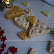 Косметика ручной работы handmade. Livemaster - original item Soap Cheese. Handmade.