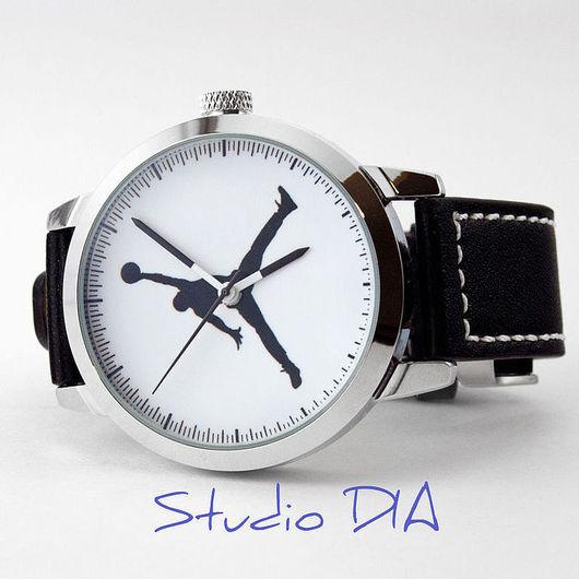 Часы Баскетбол - Air Майкл Джордан. Студия Дизайнерских Часов DIA.