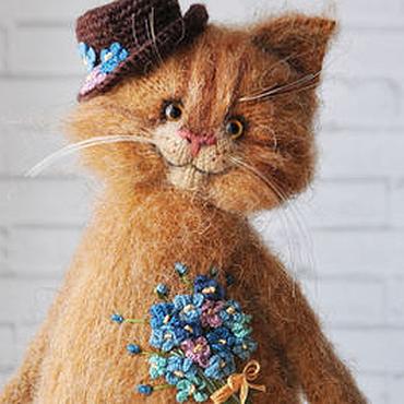 Куклы и игрушки ручной работы. Ярмарка Мастеров - ручная работа КОТ НЕЗАБУДКИН. Handmade.
