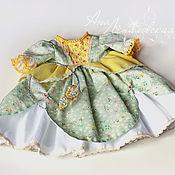 Куклы и игрушки ручной работы. Ярмарка Мастеров - ручная работа Платье принцессы для вальдорфской куклы. Handmade.