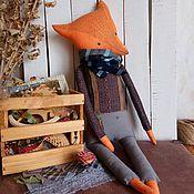Куклы и игрушки ручной работы. Ярмарка Мастеров - ручная работа Интерьерная кукла Ференц Лис. Handmade.