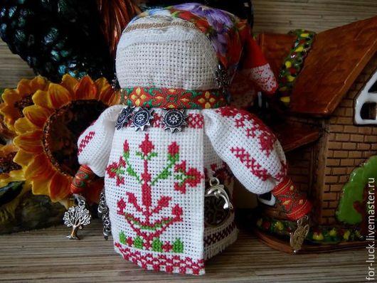 Подарочные наборы ручной работы. Ярмарка Мастеров - ручная работа. Купить крупеничка. Handmade. Ярко-красный, крупеничка кукла оберег