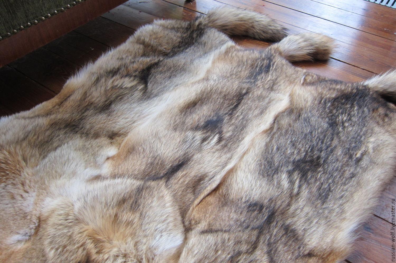 Ковры из волчьих шкур