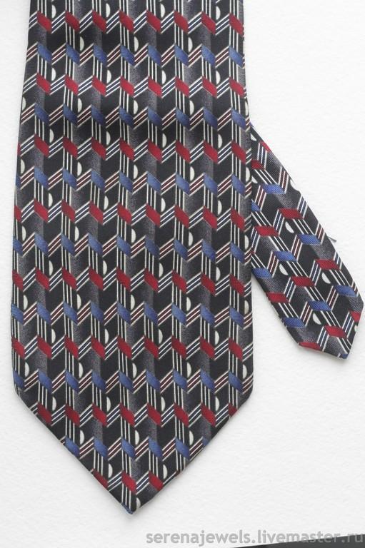 Винтажная одежда и аксессуары. Ярмарка Мастеров - ручная работа. Купить Шелковый галстук №5 FASION-TOP London. Handmade.
