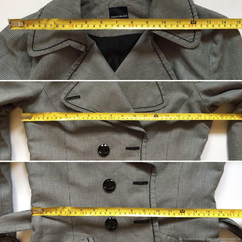 4d7e08f5 Modern&Vintage Одежда. Ярмарка Мастеров. Короткий Одежда. Винтаж: Пиджак  PENNY BLACK. Modern&Vintage Одежда. Ярмарка Мастеров. Одежда для ...