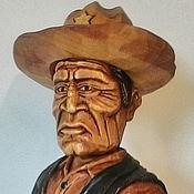 Сувениры и подарки handmade. Livemaster - original item Sheriff-decorative bottle stopper. Handmade.