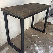 Столы ручной работы. Ярмарка Мастеров - ручная работа Стол-консоль в стиле лофт. Handmade.