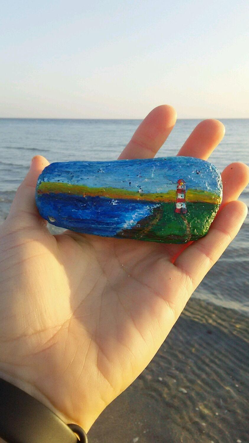 Магнит из дрифтвуда маяк у моря, Магниты, Евпатория,  Фото №1