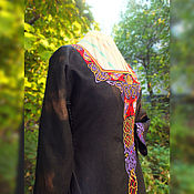 Одежда handmade. Livemaster - original item Linen medieval dress