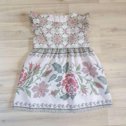 """Одежда для девочек, ручной работы. Ярмарка Мастеров - ручная работа. Купить Платье """"роза"""". Handmade. Платье, платье для девочки, детское"""