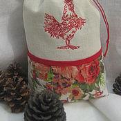 Подарки к праздникам ручной работы. Ярмарка Мастеров - ручная работа Новогодний мешочек. Handmade.