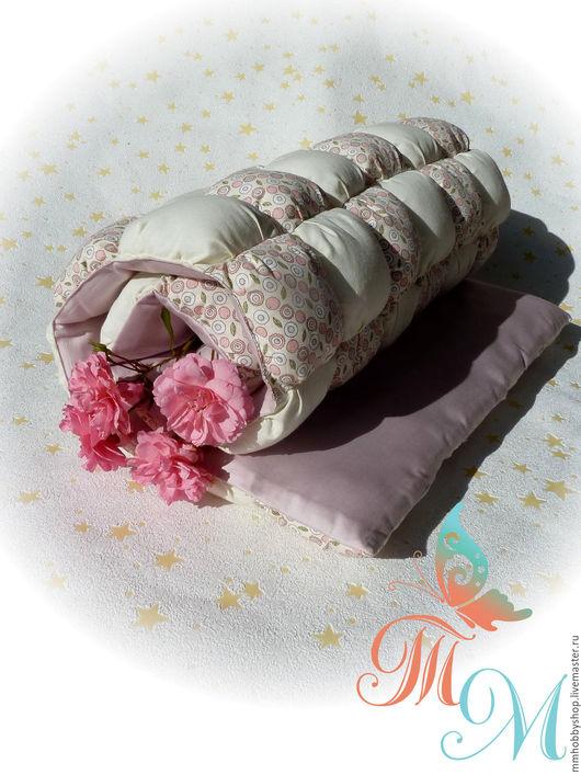 """Текстиль, ковры ручной работы. Ярмарка Мастеров - ручная работа. Купить """"Зефирка"""" одеяло-покрывало, коврик (бомбон, пуфики). Handmade."""