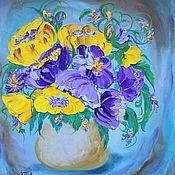Картины и панно handmade. Livemaster - original item Oil painting Elegy. Handmade.