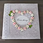 Свадебный салон ручной работы. Ярмарка Мастеров - ручная работа Свадебный фотоальбом с магнитными листами. Handmade.