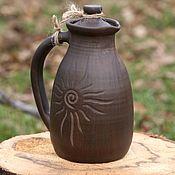 """Посуда ручной работы. Ярмарка Мастеров - ручная работа Травник керамический """"Черное дерево"""". Керамика ручной работы. Handmade."""