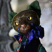 Куклы и игрушки ручной работы. Ярмарка Мастеров - ручная работа Кошка Серафина. Handmade.