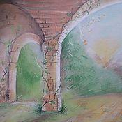 """Картины и панно ручной работы. Ярмарка Мастеров - ручная работа картина """"Забытое"""". Handmade."""