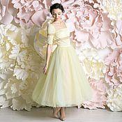 """Одежда ручной работы. Ярмарка Мастеров - ручная работа """"Полин"""" коктейльное платье. Handmade."""