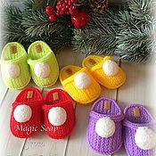 Косметика ручной работы handmade. Livemaster - original item Soap Knitted Slippers. Handmade.