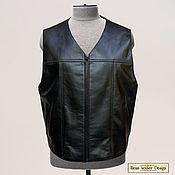 Мужская одежда handmade. Livemaster - original item Men`s vest