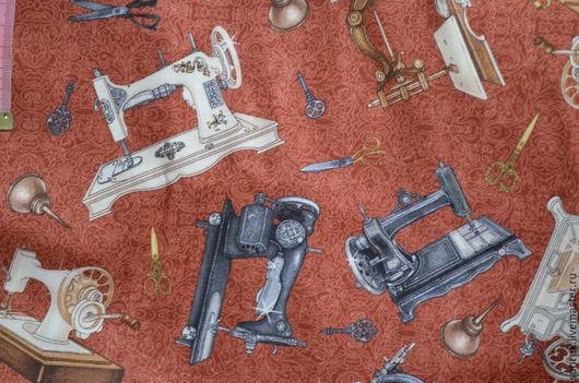 """Шитье ручной работы. Ярмарка Мастеров - ручная работа. Купить Ткань из коллекции """"Шьем как в старые добрые врем. Handmade. Разноцветный"""