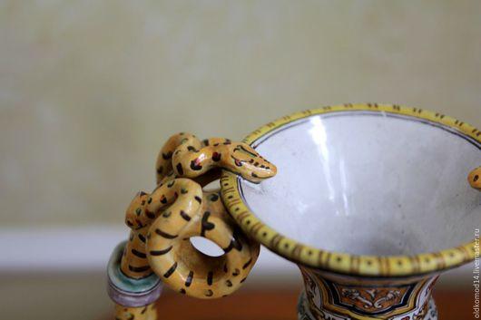 Винтажные предметы интерьера. Ярмарка Мастеров - ручная работа. Купить сицилийская ваза со змеями. Handmade. Итальянский стиль, италия