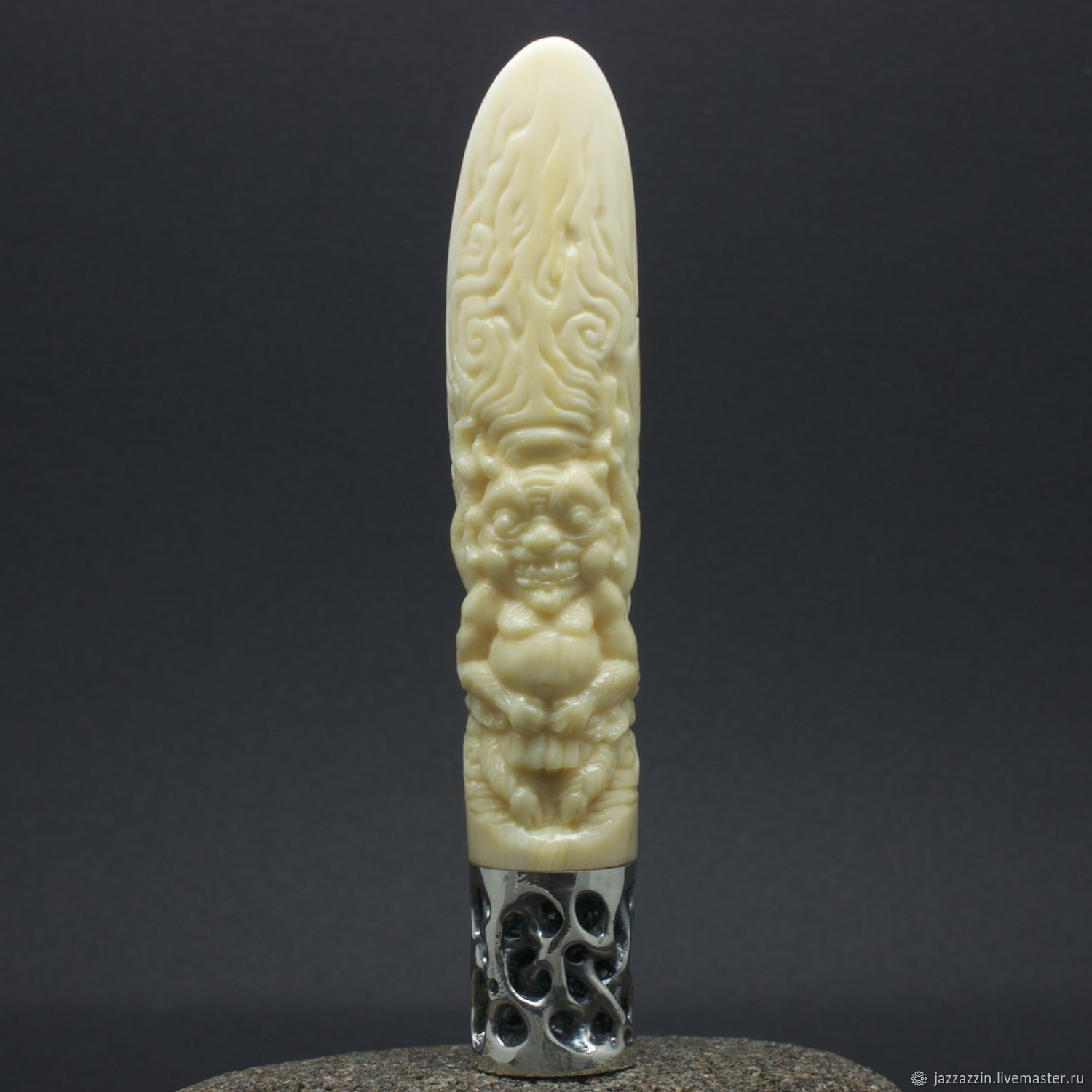 Gifts for Men handmade. Livemaster - handmade. Buy Pipe tamper.Unique, pipe smoking, whale tooth