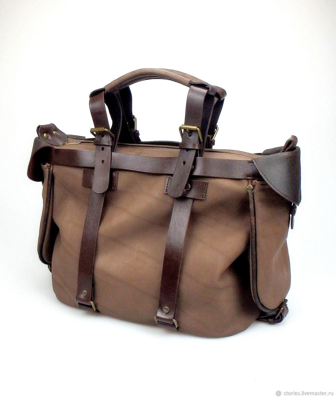 большая кожаная сумка, сумка саквояж Wild Journey Mid, Дорожная сумка, Дубна,  Фото №1