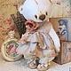 Мишки Тедди ручной работы. Мишка Микэлла. Vintage bears Фоменко Ольга. Интернет-магазин Ярмарка Мастеров. Тедди, опилки